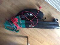 Qualcast leaf blower / shredder