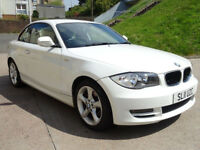 BMW 1 SERIES 2.0 118D SPORT 2d 141 BHP BLUETOOTH + STOP / START + 2 PREVIOUS KEEPERS +