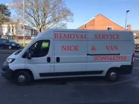 FROM 20/£ MAN & VAN – REMOVAL SERVICES / 24/7