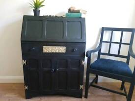 Stunning Vintage Writing Bureau and Chair