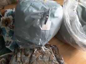 CARGO DUCKEGG BLUE BEANBAG BEAN BAG CUBES X 2 NEW