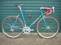 Vintage custom renovated Giant Peloton 7600 steel frame road bike 56cm