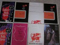 Collectible Vintage Opera Theatre Programmes