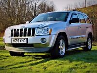 JEEP GRAND CHEROKEE 3.0 V6 CRD LIMITED REDUCED £300 5d AUTO 215 BHP 4x (silver) 2005