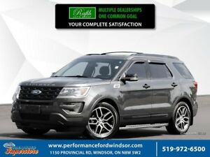 2016 Ford Explorer Sport ***NAV, leather, 3.5L Ecoboost***