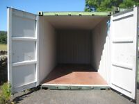 Shipping Container 20 feet Available For Rent Walwick North Tyne With Security CCTV