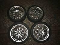 Multifit wheels /alloys 17R 5x114.3