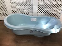 Blue baby bath - reduced price