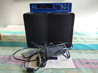 BRENNAN 320GB MUSIC HDD WITH SPEAKERS