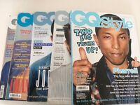 GQ Style Magazines - Issues 11, 14, 15, 16, 17