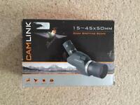 Camlink Monocular Bird Animal spotting scope CSP 15-45x50mm zoom