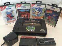 Sega master system 2 games console with games