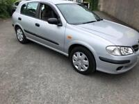Nissan almera 1.5 petrol mot cheap car!!!!