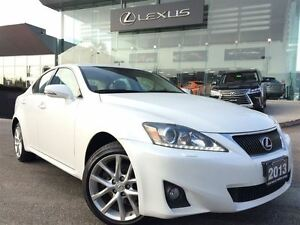 2013 Lexus IS 250 Luxury & Navi Pkg AWD Leather Back Up Cam Sunr