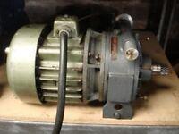 Electric Variable Speed Kopp / Allspeeds Variator Lathe Motor 3 Phase 1.5HP