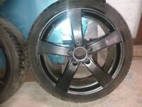 Bmw e90 3 series dezent 5 spoke alloys with tyres req refurbished
