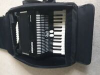 Hohner Accordion and Case