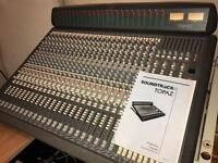 **STUDIO SALE** - Soundtracs Topaz 24 Channel Mixing Desk