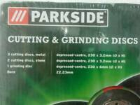 Cutting and grinding disc's
