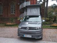 Volkswagen 4 berth Campervan transporter 2013, low miles, no vat, great cond