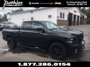 2017 Ram 1500 Black Appearance | CLOTH | HEATED SEATS | KEYLESS