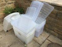 Plastic crates - large size