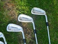 Maxfli A10 irons for sale. £40. Decent set of irons in reasonable condition
