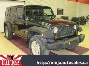 2011 Jeep WRANGLER UNLIMITED Sport Best Value In Alberta