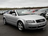 2004 audi a4 1.8 t sport convertible, motd nov 2018 all cards welcome
