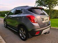 Nov 2013 Vauxhall Mokka 1.7 CDTi SE 5dr 4WD BOSE SOUND, SAT NAV, CAMERA, FULL LEATHER, RARE 4X4! FSH