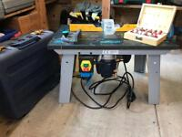Router and Router Table