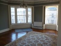 Large, unfurnished, 2-bedroom flat in the West End available for immediate occupancy