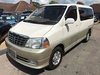 2001/Y TOYOTA GRAND HI ACE 7/8 SEATER AUTOMATIC,VERY LOW MILEAGE,STUNNING CONDITION INSIDE+OUT