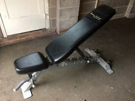 Body solid, commercial weight bench