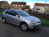 VW GOLF 1.6 fsi SILVER * 1 Year MOT * 5 Door Hatchback * 6 speed * FSH* excellent car