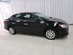 2017 Nissan Sentra AN EXCLUSIVE OFFER FOR YOU!!! SV SEDAN W/ PUS