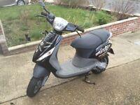 Piaggio zip X reg 2000 50cc /70cc black