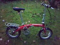 DAHON Curve D3 Folding Bike like Brompton orTern