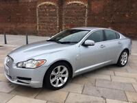 2008 / JAGUAR XF LUX DIESEL / ALLOYS / LEATHER / SAT NAV / ELEC WINDOWS / DECEMBER MOT .