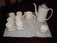 WEDGEWOOD COFFEE SET SUSIE COOPER CHARISMA