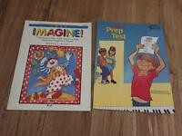 2 x music books for Piano Prep Test