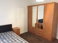 Large double bed room for couple or single person