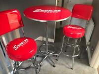 Snap on Bistro table and stools
