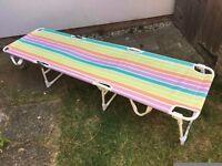 Folding sunbed for sale