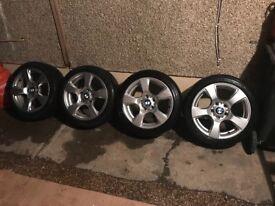 "17"" BMW alloy wheels of e46 320 estate"