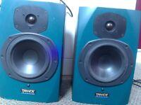 Tannoy active studio speakers