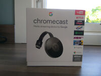 Google Chromecast 2, brand new & sealed in box - 2 available