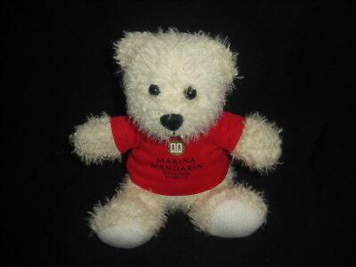 Souvenir Soft Plush Teddy Bear Marina Mandarin Singapore by Meritus