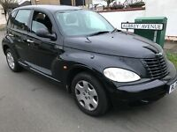 Chrysler PT Cruiser Classic 2429cc petrol 5 speed manual 5 door hatchback 05 Plate 12/04/2005 Black