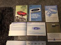 New old ford stock escort unused service pack